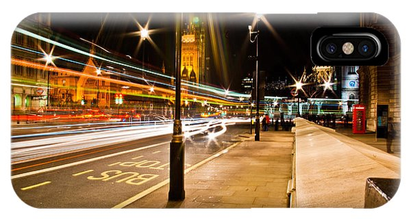 London By Night Phone Case by Gabor Fichtacher