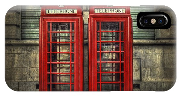 Vintage iPhone Case - London Calling by Evelina Kremsdorf