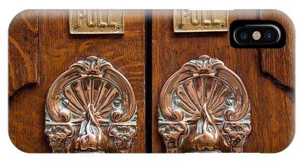 London Coliseum Doors 02 IPhone Case
