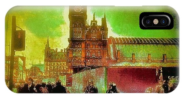 Edit iPhone Case - London Edit by Chris Drake