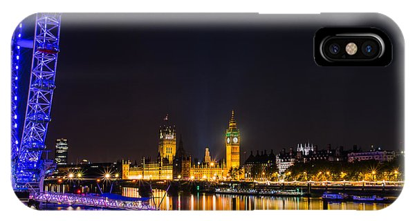 London Eye And  Big Ben IPhone Case