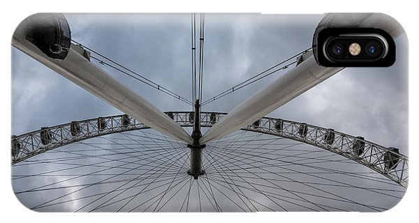 London Eye Detail IPhone Case