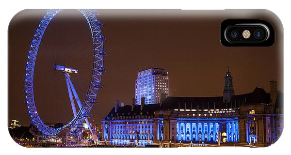 London Eye Evening IPhone Case