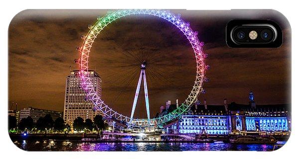 London Eye Pride IPhone Case