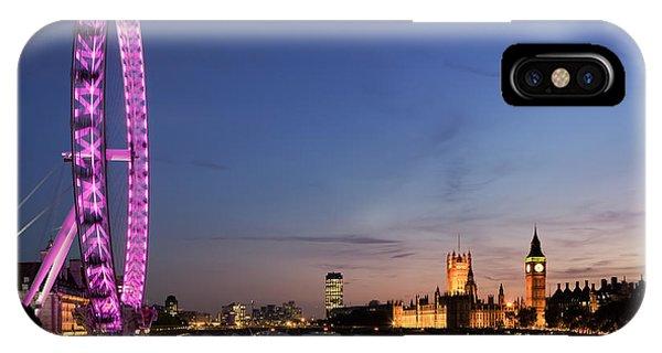 London Eye iPhone Case - London Eye by Rod McLean