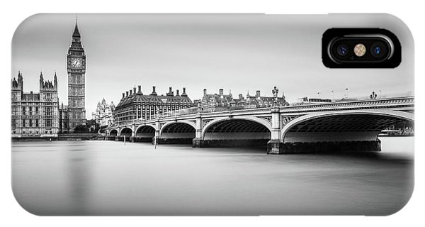 Ben iPhone Case - London by Milan Jurek