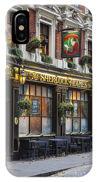 IPhone Case featuring the photograph London Pub by Brian Jannsen