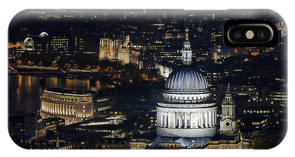London St Pauls At Night Colour IPhone Case