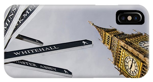 London Street Signs IPhone Case