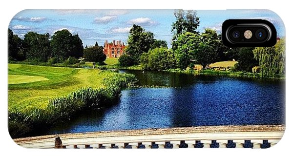 London Bridge iPhone Case - #london #summer #spa #mansion by Angad B Sodhi
