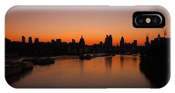 London Sunrise 2 IPhone Case