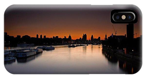 London Sunrise IPhone Case