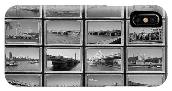London Thames Bridges IPhone Case
