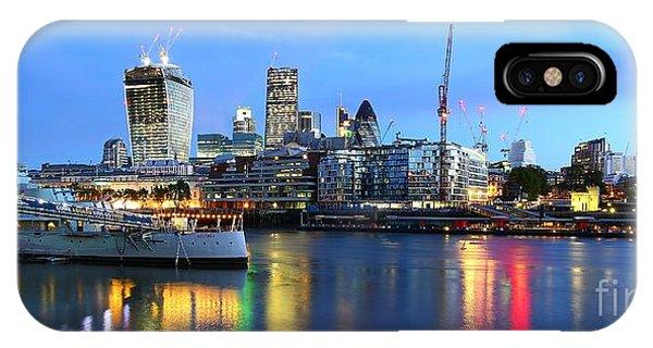 London View Phone Case by Mariusz Czajkowski