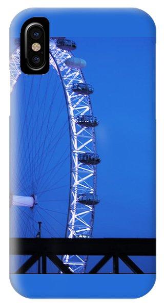 London's Eye At Dusk IPhone Case
