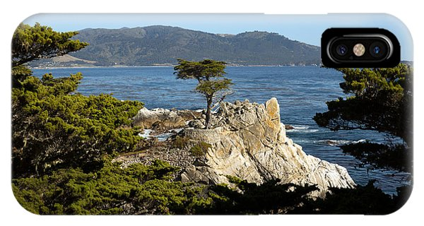Lone Cypress On 17-mile Drive  IPhone Case