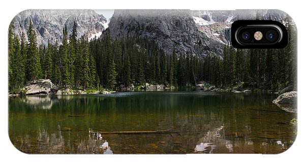 Indian Peaks Wilderness iPhone Case - Lone Eagle Afternoon by Aaron Spong
