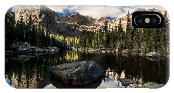 Indian Peaks Wilderness iPhone Case - Lone Eagle  by Steven Reed