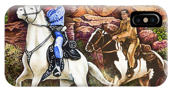 Lone Ranger And Tonto Ride Again IPhone Case