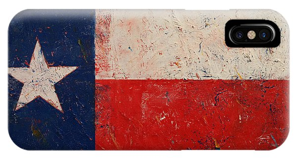 Bravery iPhone Case - Lone Star by Michael Creese