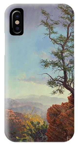 Lone Tree Struggle IPhone Case