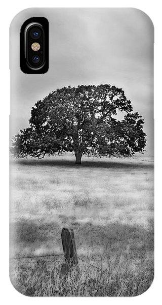 Lone Valley Oak Vertical IPhone Case