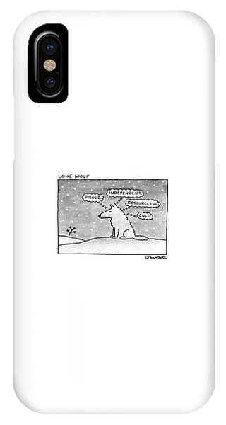 Lone Wolf: IPhone Case