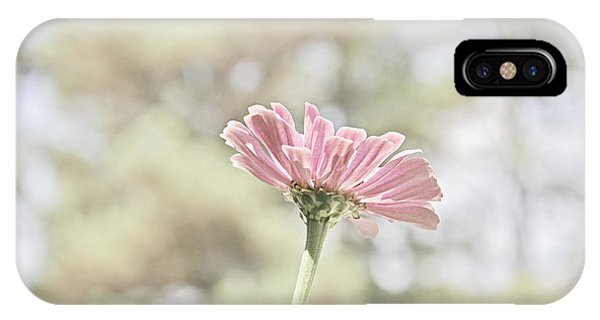 Lone Zinnia IPhone Case