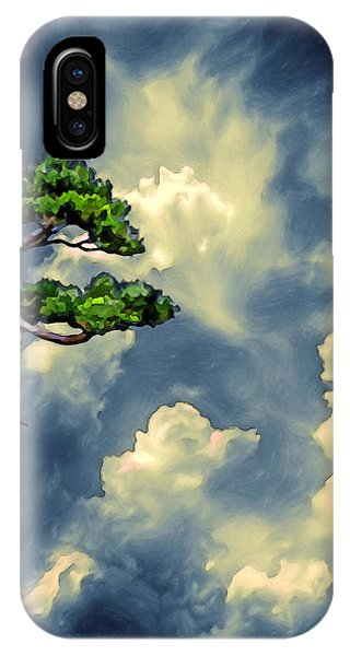 Lonely Bonsai IPhone Case