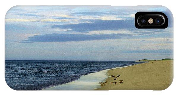 Lonely Cape Cod Beach IPhone Case