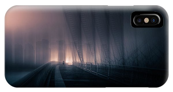 Double iPhone Case - Lonely Day by Baidongyun