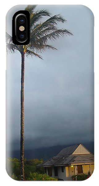 Lonely Palm IPhone Case