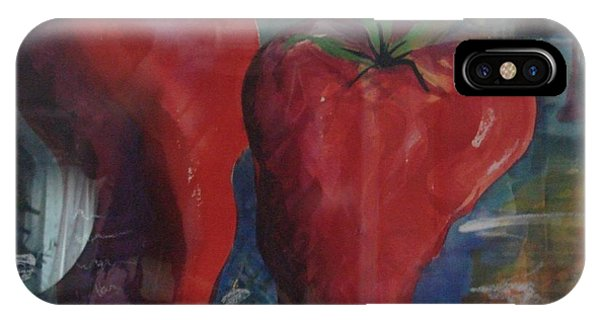 Lonely Peppers Phone Case by Bianca Romani