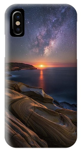Rock Formation iPhone Case - Lonely Planet by Tim Fan