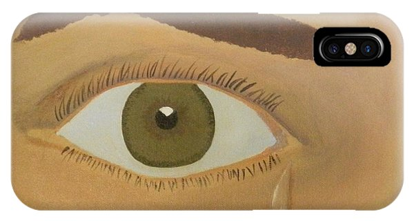 Lonely Teardrop IPhone Case