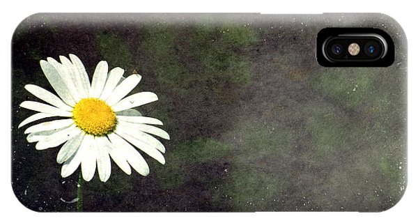 Lonesome Daisy IPhone Case