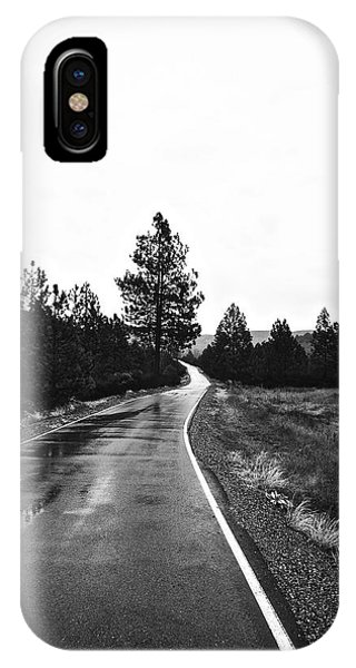 Lonesome Highway No. 2 IPhone Case