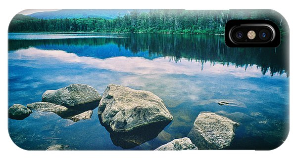 Lonesome Lake Nh IPhone Case
