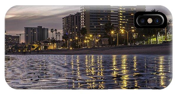 Long Beach Evening IPhone Case