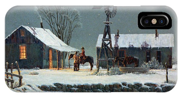 Aztec iPhone Case - Long Day's End by Randy Follis