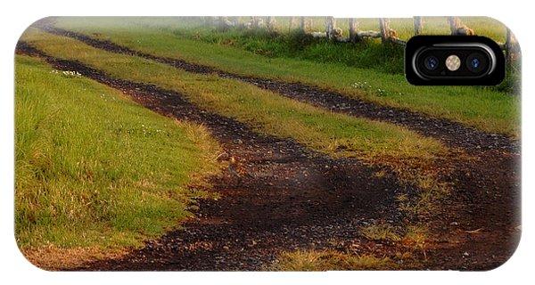 Long Dirt Road IPhone Case