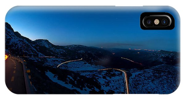 Long Exposure In Serra Da Estrela Portugal IPhone Case