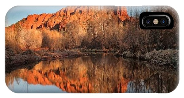 iPhone Case - Long Exposure Photo Of Sedona by Larry Marshall