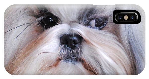 Long Haired Shih Tzu IPhone Case