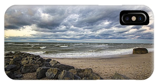 Long Island Sound Whitecaps IPhone Case