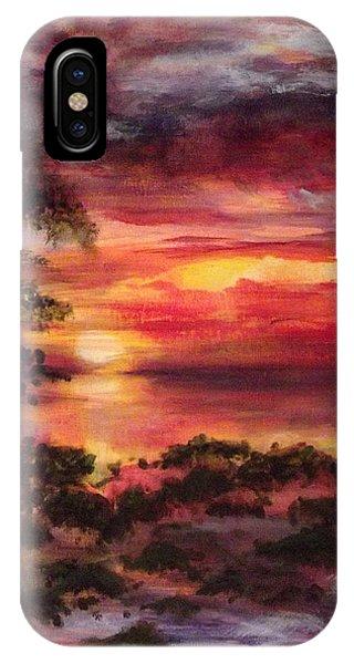 Long Key Sunrise IPhone Case