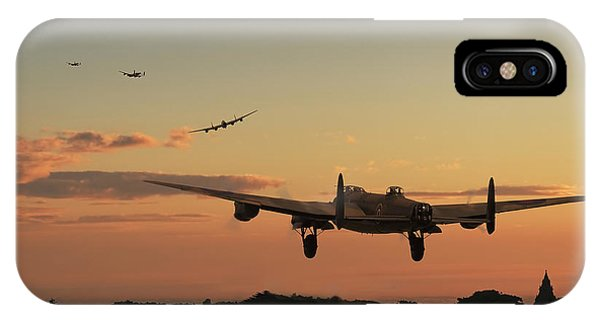 Airplane iPhone Case - Long Night Ahead by Pat Speirs