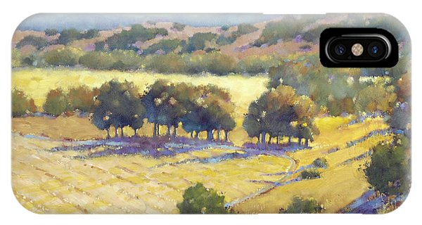 Long Shadows At Los Olivos IPhone Case
