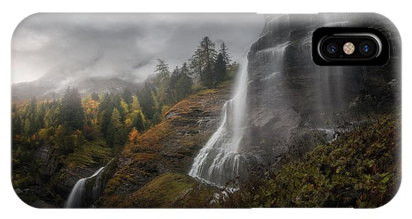 Mist iPhone Case - Long Way To Ainor by Milos Lach