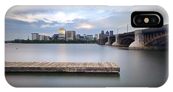 Zakim Bridge iPhone Case - Longfellow Bridge by Eric Gendron